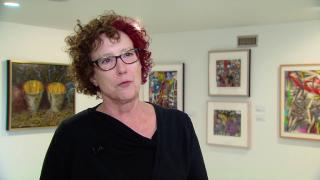 Chicago Painter's Artwork Began in Suburban Kitchen