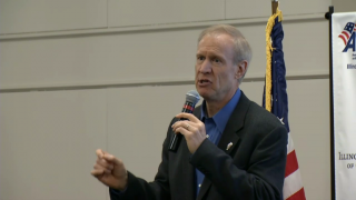 Rauner Proposes Cuts to CPS, Meets with Legislative Leaders