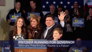 J.B. Pritzker Announces Bid for Illinois Governor