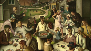Turbulence of America in 1930s Gives Rise to Distinct Art