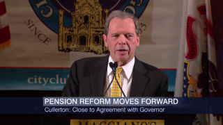 Cullerton Strikes Deal with Rauner