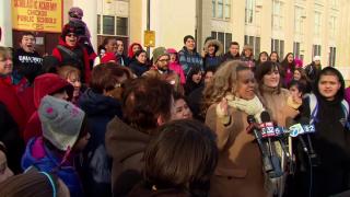 February 26, 2014 - Some CPS Teachers Boycotting ISAT