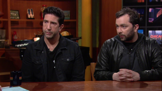 David Schwimmer on 'Beyond Caring' at Lookingglass