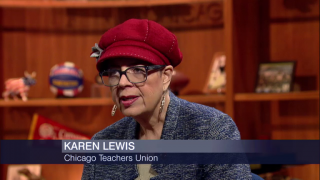 CTU President Karen Lewis Explains 1-Day Teachers Strike