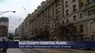 New Cook County Hospital Redevelopment Plans