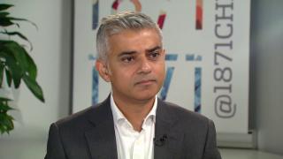 London Mayor talks Trump, Clinton, the Politics of Inclusion