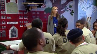 Detainees Work Through Trauma in Jail