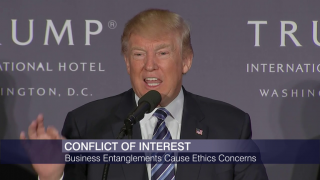 Trump's Business Entanglements Create Ethics Concerns