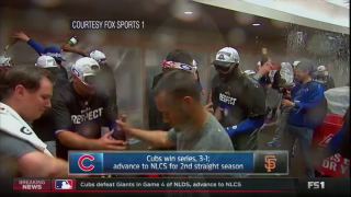 Cubs Beat Giants, Head to NL Championship Series