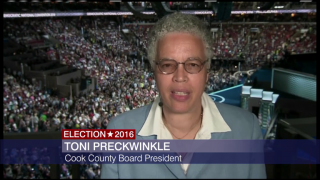 Toni Preckwinkle: Sanders Supporters 'Will Fall in Line'