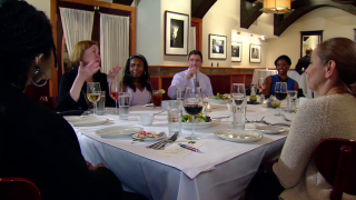 May 13, 2014 - Diners Discuss Chicago's Future