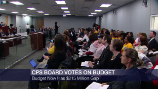 CPS Board Approves Revised Budget With $215M Gap