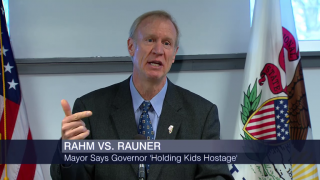Rahm, Rauner in War of Words