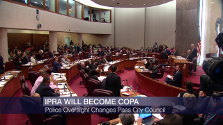 COPA Passes City Council