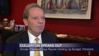 Cullerton: Rauner Holding Up Budget, Pension Reform