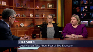 For Expectant Mother, Possible Exposure to Zika Terrifying