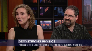 Scientists Battle for Physics Slam Crown