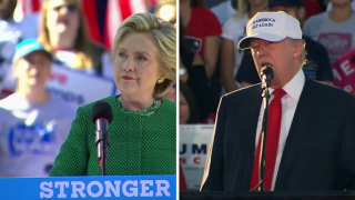 Trump, Clinton in the Home Stretch