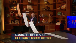 July 21, 2014-The Failure of Mandated Disclosure