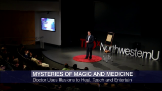 Doctor Uses Magic to Heal, Teach and Entertain