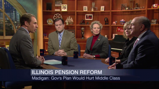 Lawmakers Discuss Governor's Pension Proposal