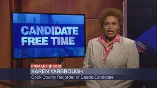 Candidate Free Time: Karen Yarbrough