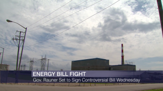 Rauner to Sign Controversial Energy Bill as Debate Rages On