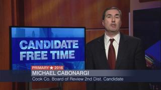 Candidate Free Time: Michael Cabonargi