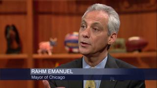 Mayor Emanuel on CPD Superintendent,CTU Strike,City Finances