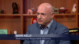 For Mark Kelly, Preventing Gun Violence Top Mission