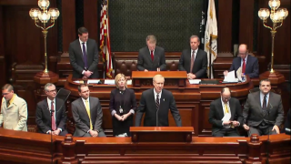 Gov. Rauner Strikes Conciliatory Tone in State of the State
