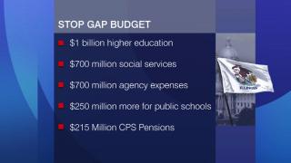 Legislators Approve Stopgap Budget