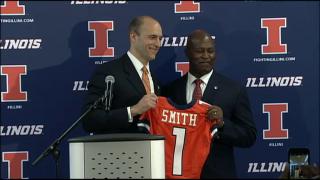 Lovie Smith Named University of Illinois Football Coach