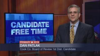 Candidate Free Time: Dan Patlak
