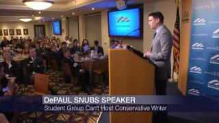 Uproar After DePaul University Bans Conservative Speaker