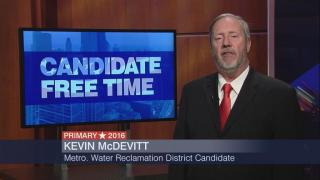 Candidate Free Time: Kevin McDevitt