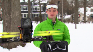 Drone Racing: Local Hero Excels at New International Sport