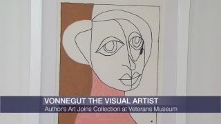 Kurt Vonnegut Artwork Finds New Home at Veterans Museum