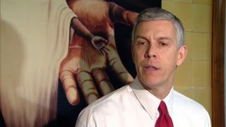 Arne Duncan Addresses Gun Violence