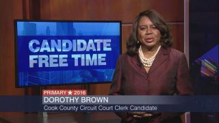 Candidate Free Time: Dorothy Brown