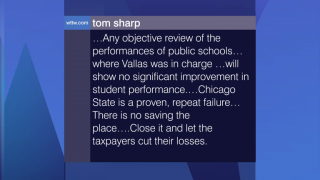 Viewer Feedback: Chicago State is a Proven, Repeated Failure