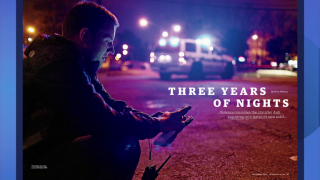Reporter on 'Three Years of Nights' Covering City Violence