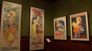 'Passion for French Posters' on Display at Driehaus Museum