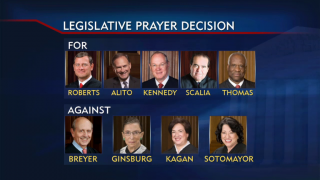 May 6, 2014 - Shift on Public Prayer