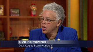 Toni Preckwinkle on $174M Cook County Budget Gap