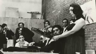 Cellist Charlotte Moorman's Legacy Showcased in Exhibit