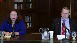 Duckworth, Kirk Face Off in 1st Senate Debate
