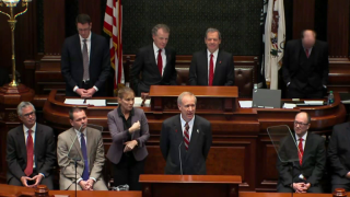 Rauner Lays Out Budget Plan; Democrats Not Impressed