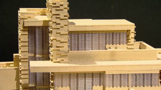 Lego Architect Reaches New Heights With MSI Exhibit