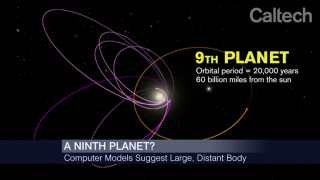 Caltech Scientists Find Evidence of Distant 9th Planet